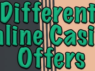 different online casino offers
